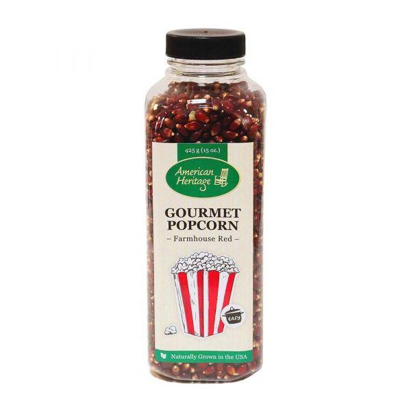 Gourmet-Popcorn American Heritage Farmhouse Red