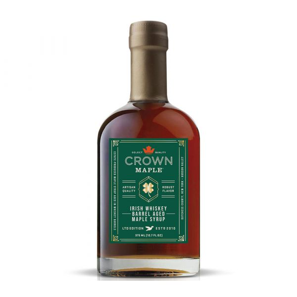 Crown Maple Irish Whiskey Barrel Aged Maple Syrup von American Heritage