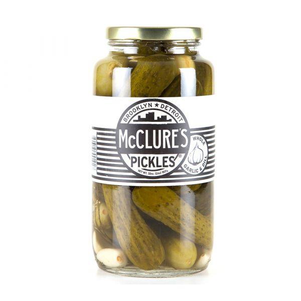Mc Clure's Pickles Garlic & Dill - eingelegte Gurken - von American Heritage