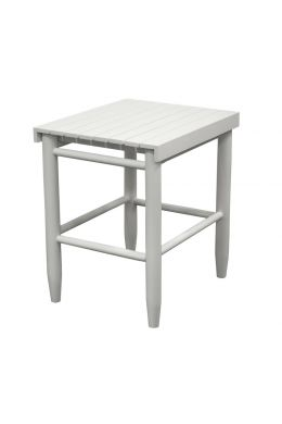 Side table white Troutman from American Heritage