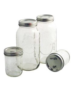 Ball Mason Jars, Wide Mouth, bei American Heritage