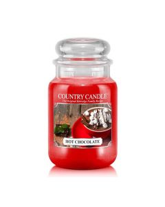 Country Candle Jar Hot Chocolate Large von Kringle Candle bei American Heritage