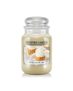 Country Candle Jar Vanilla Cupcake Large von Kringle Candle bei American Heritage