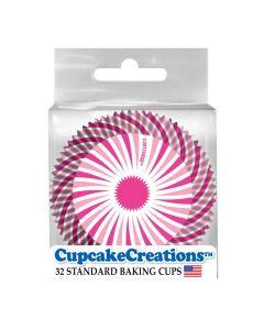 Pinke Backförmchen für Cupcakes und Muffins bei American Heritage
