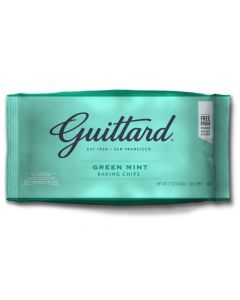 Chocolate Chips Green Mint from Guittard at American Heritage