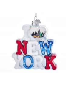 Ornament I love New York bei American Heritage