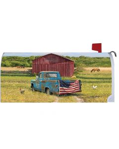Live Laugh Love Mailbox Cover from American Heritage