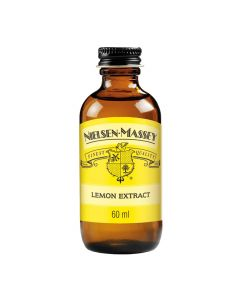 Zitronen-Extrakt von Nielsen Massey (60 ml-Glasflasche)