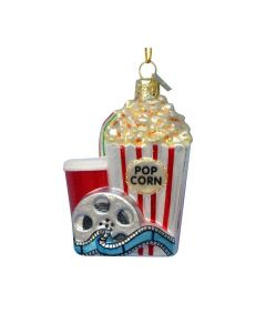 Ornament Popcorn and Movie from American Heritag