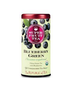 Blueberry Green Tea, grüner Tee mit Blaubeere von The Republic of Tea