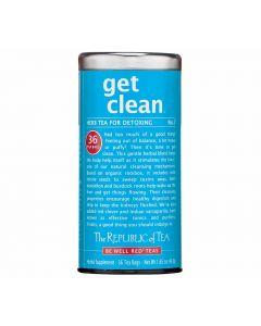 Republic of Tea Get Clean Tee American Heritage