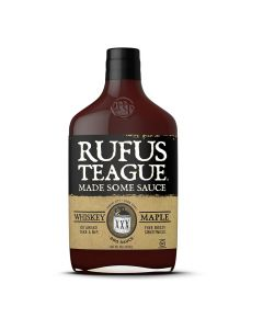 Rufus Teague Whiskey Maple BBQ Sauce from American Heritage