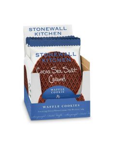 Cocoa Sea Salt Waffle Cookie von Stonewall Kitchen bei American Heritage