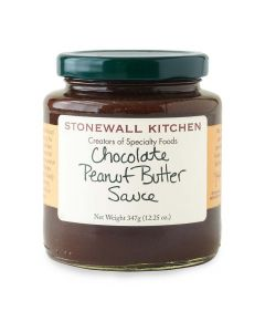 Stonewall Kitchen Chocolate Peanut Butter Sauce from American Heritage