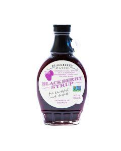 Blackberry Syrup von Blackberry Patch in der Glasflasche (236 ml) - Brombeersirup