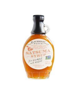 Satsuma Syrup von Blackberry Patch in der Glasflasche (236 ml) - Orangensirup