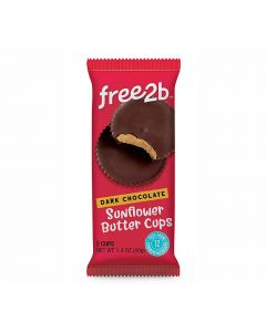 free2b Dark Chocolate Sunflower Butter Cups von American Heritage