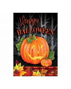 Happy Halloween Kürbis Gartenfahne von American Heritage