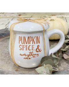 Pumpkin Spice & everything nice Tasse von American Heritage