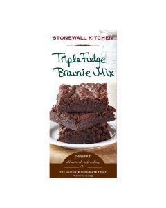 Stonewall Kitchen Triple Fudge Brownie Backmischung