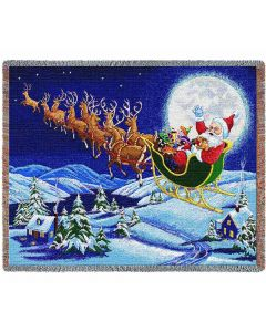 Christmas Magic Throw Blanket American Heritage