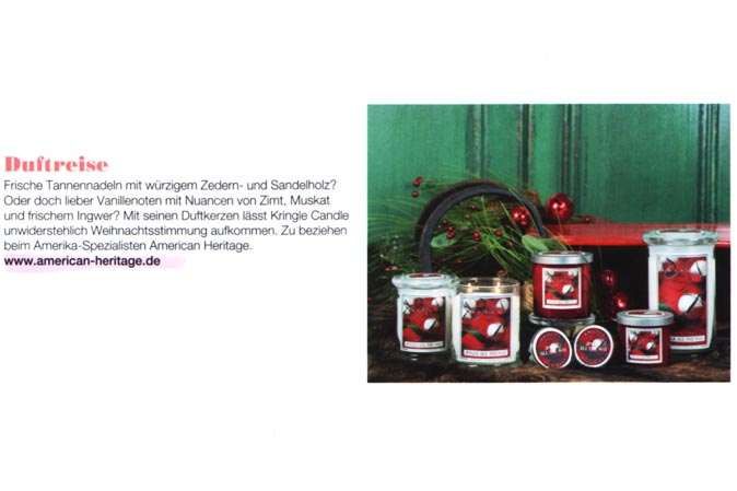 Zur Weihnachtszeit: Jingle all the Way von Kringle Candle
