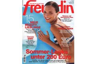 Freundin Ausgabe 15-2015 mit Rezepten für Konfitüre