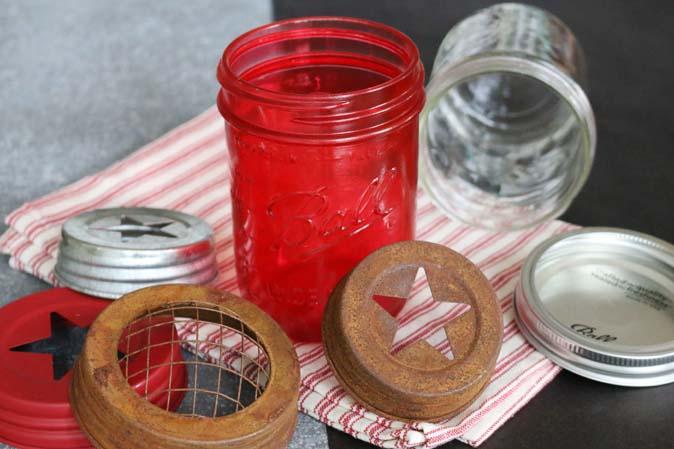 Neue Deckel für Ball Mason Jars in den American Heritage Läden