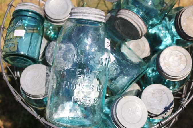 Sammlerstücke: Antike Ball Mason Jars