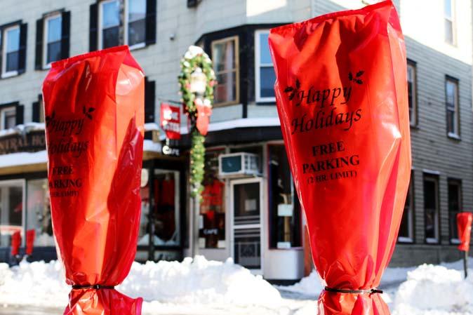 Happy Holidays - weihnachtliches Parken im Hudson Valley
