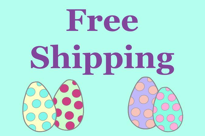 Free Shipping zu Ostern