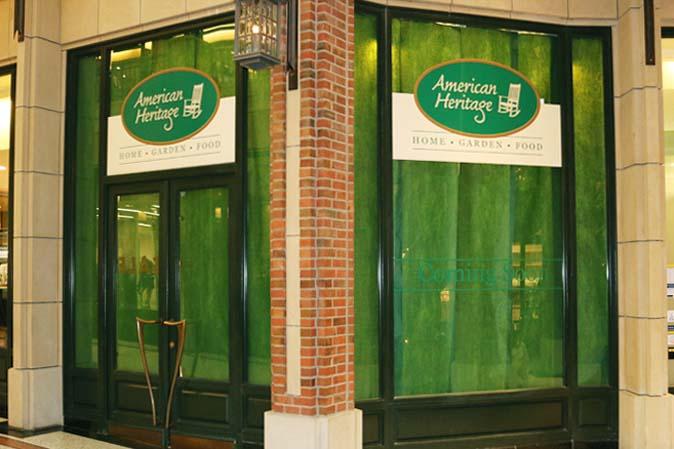 Ein neues American Heritage-Geschäft - aber wo?
