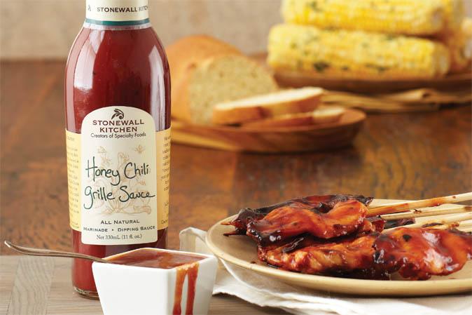Neu bei American Heritage: Honey Chili Grille Sauce von Stonewall Kitchen