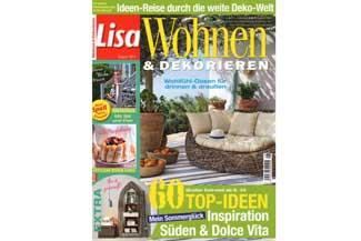 Lisa Wohnen & Dekorieren Ausgabe August 2015