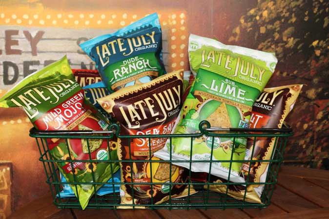 Die LIeblings-Chips von American Heritage: Late July Tortilla Chips - nur kurzfristig in unseren Läden