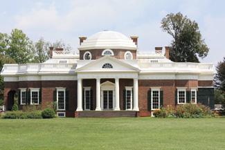 Monticello von Thomas Jefferson's