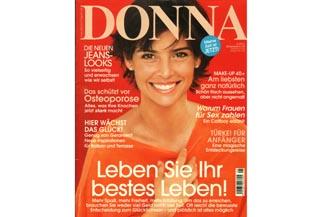 Freundin Donna Ausgabe Mai 2015