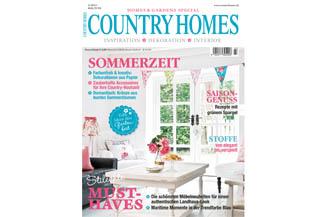 Das aktuelle Country Homes Magazin Ausgabe Nr. 3/2013