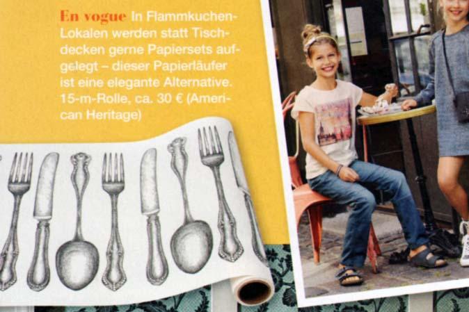 Hester & Cook Tischläufer im Vintage-Stil bei American Heritage