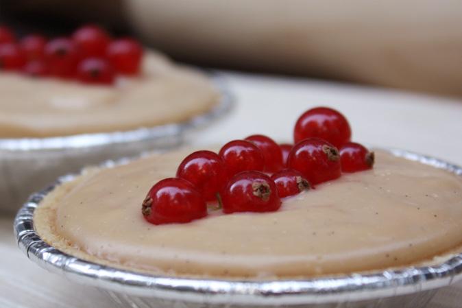 Pie mit Cranberries