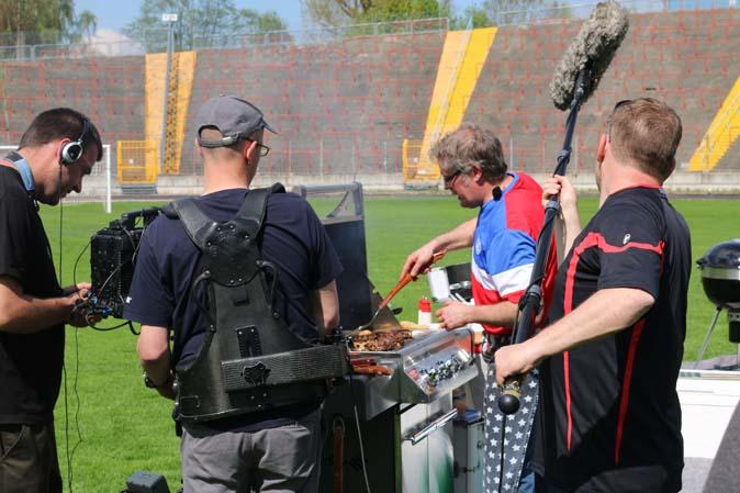Patrick Ryan bei der Fußball-Grill-WM bei Kabel 1: Holt er den Weltmeistertitel?
