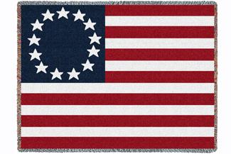 Die legendäre erste amerikanische Fahne