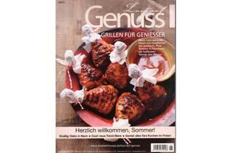 Das aktuelle Lust auf Genuss-Magazin Ausgabe Nr. 6/2013