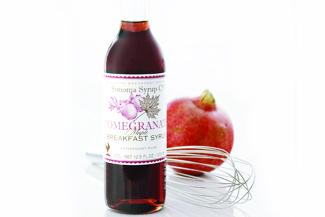 Granatapfel-Ahornsirup Vinaigrette