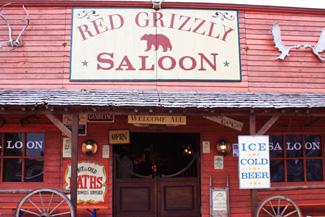 Red Grizzly Saloon auf der Americana in Augsburg