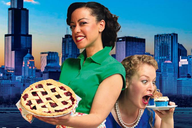 Frauen mit Amerikanischen-Süßwaren