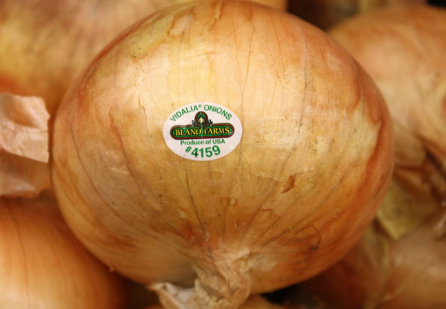 Vidalia-Zwiebeln aus den Südstaaten