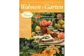 Garten & Wohnen-Empfehlung Ausgabe September 2014