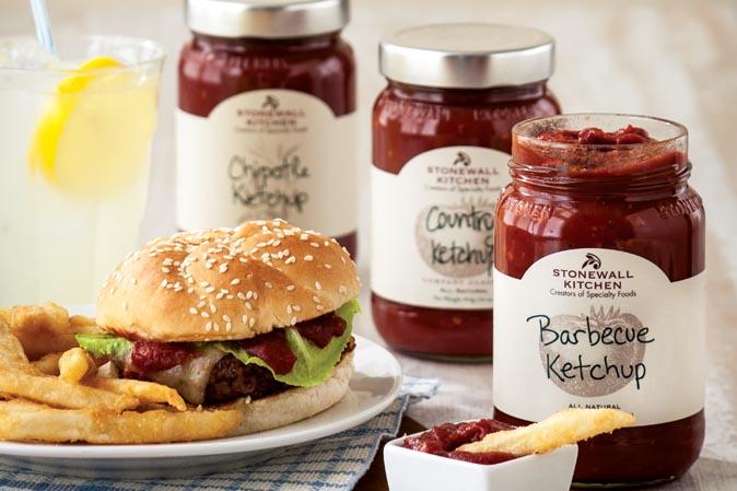 Die Ketchup-Serie von Stonewall Kitchen bei American Heritage